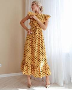 Платье длинное летнее А01535