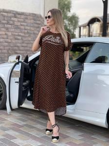 Платье длинное летнее А47725
