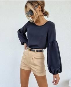 Блуза с длинным рукавом А52044