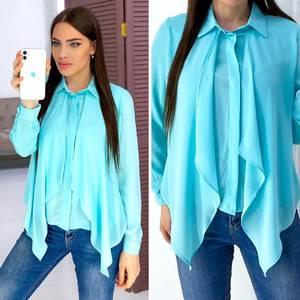 Блуза с длинным рукавом А03408