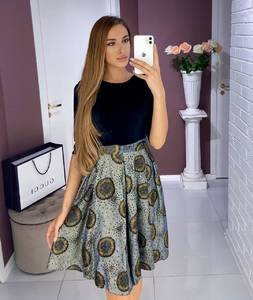 Платье короткое нарядное Ш8011