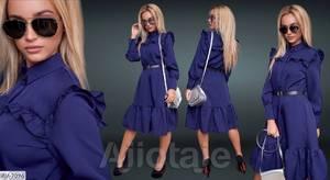 Платье короткое нарядное Ю4090
