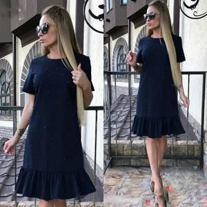 Платье короткое современное Ю6433