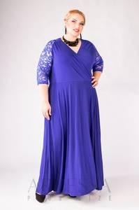 Платье длинное нарядное Я1536