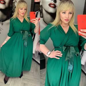 Платье длинное нарядное А32364