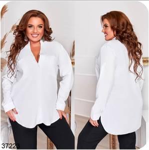 Рубашка однотонная А32392