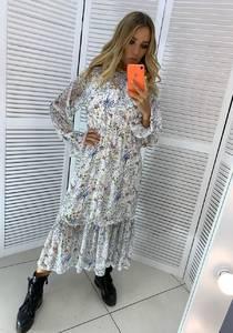 Платье длинное нарядное Ю4762