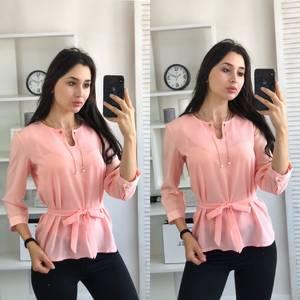 Блуза розовая А03411