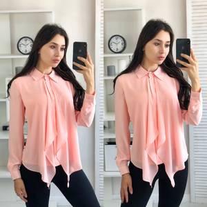 Блуза с длинным рукавом А03409