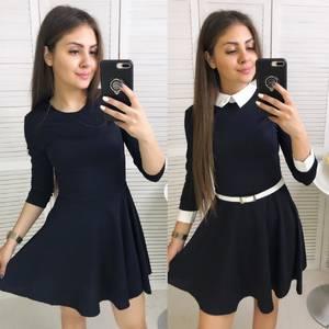 Платье короткое классическое Ц7535