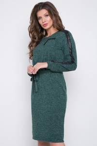 Платье короткое с длинным рукавом Ш3062