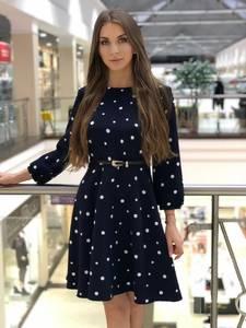 Платье короткое элегантное Ю0646