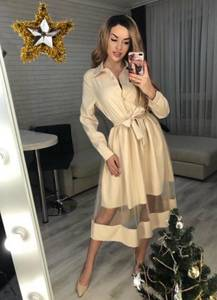Платье короткое современное Ю2004