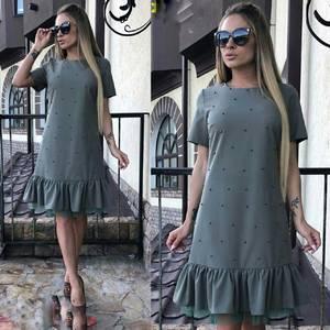 Платье короткое современное Ю6434