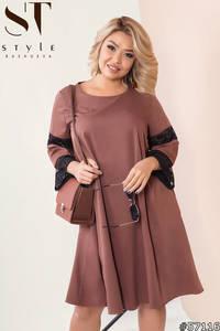 Платье короткое нарядное Я4448