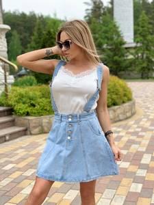 Юбка джинсовая Я7814