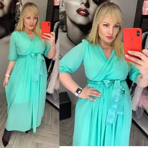 Платье длинное нарядное А32365