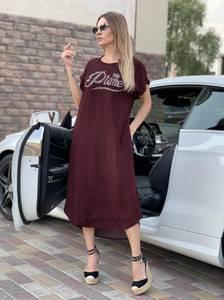 Платье длинное летнее А47726