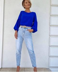 Блуза с длинным рукавом А52046