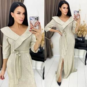 Платье длинное нарядное А55049