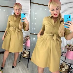 Платье короткое нарядное Ц7216
