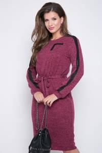 Платье короткое с длинным рукавом Ш3063