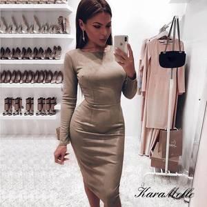 Платье короткое облегающее Ш6135