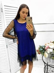 Платье короткое нарядное Ш9014