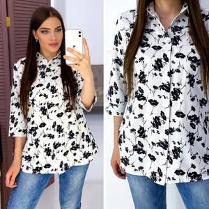 Рубашка с принтом Я9122