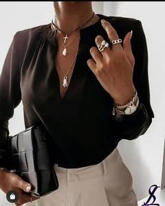 Блуза с длинным рукавом А33673