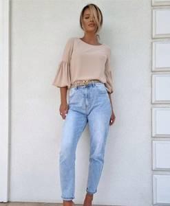 Блуза с длинным рукавом А52047
