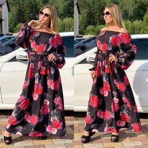 Платье длинное нарядное Ч5256