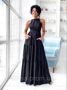 Платье длинное летнее Ч7861