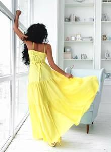 Платье длинное летнее Ч7859