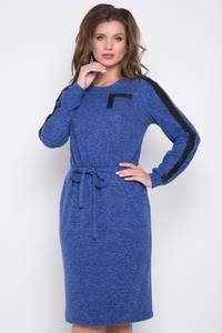 Платье короткое с длинным рукавом Ш3064