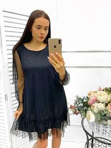 Платье короткое нарядное Ш9015