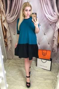Платье короткое современное Ю6436