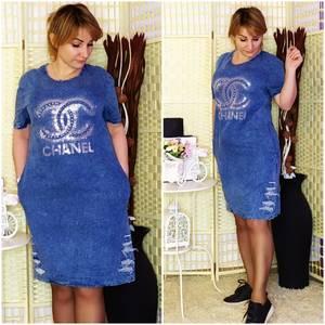 Платье короткое летнее Я1906