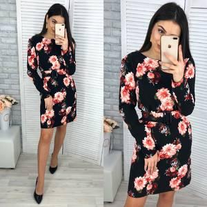 Платье короткое нарядное Я2226