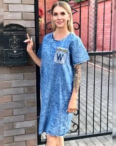 Платье короткое летнее Ч2864