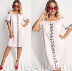 Платье короткое летнее А03653