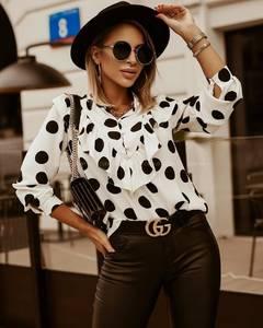 Блуза с длинным рукавом А30861