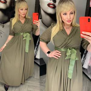 Платье длинное нарядное А32367