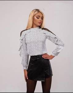 Блуза с длинным рукавом А34045