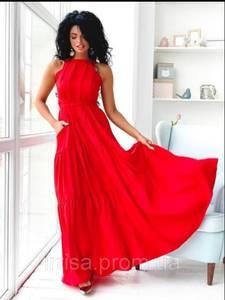 Платье длинное летнее Ч7862