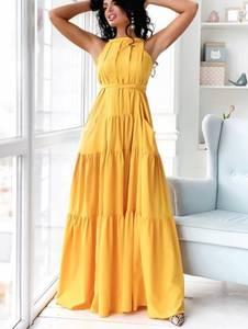 Платье длинное летнее Ч7864