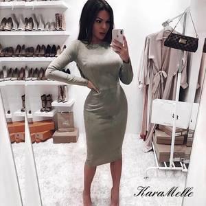 Платье короткое облегающее Ш6137