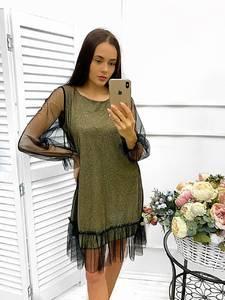 Платье короткое нарядное Ш9016