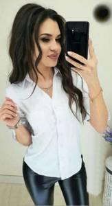 Рубашка белая Ю7865