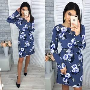 Платье короткое нарядное Я2227